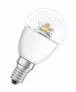 Osram světelný zdroj LED STAR CLASSIC P E14 6W 220-240V 2700K 470lm, teplá bílá