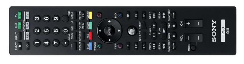 PS3 - BD Remote Control V2