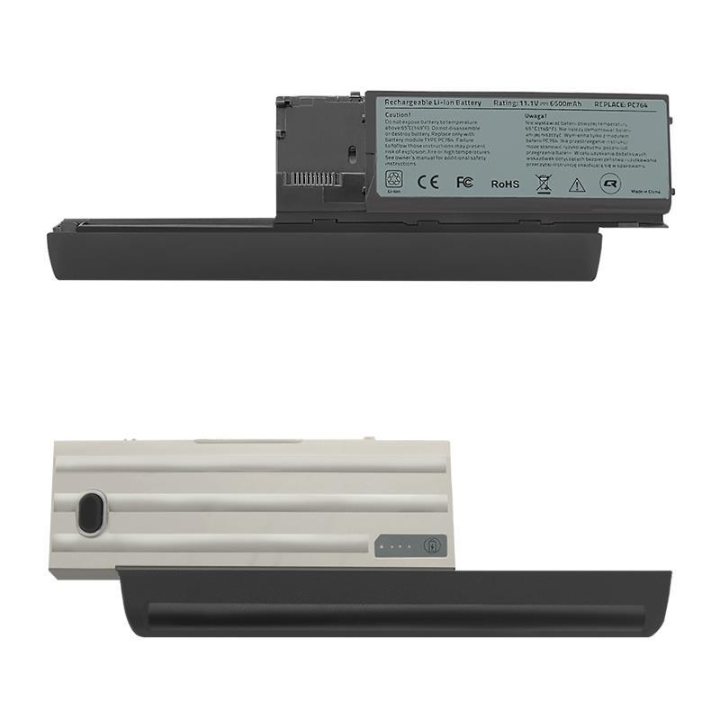 Qoltec Long Life baterie pro notebooky - Dell Latitude D630 | 6600mAh | 11.1V