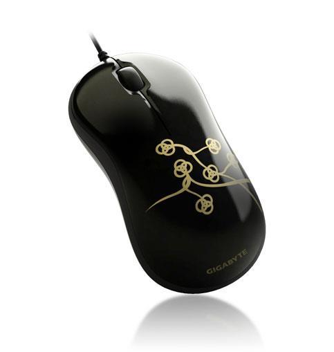 Gigabyte Optical Mouse M5050S, Black