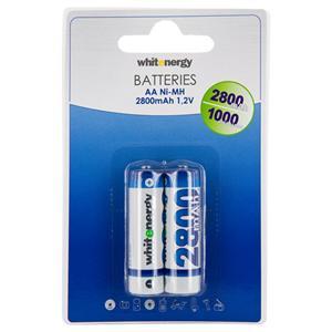 Whitenergy nabíjecí baterie AA/R6 2800mAh 2ks