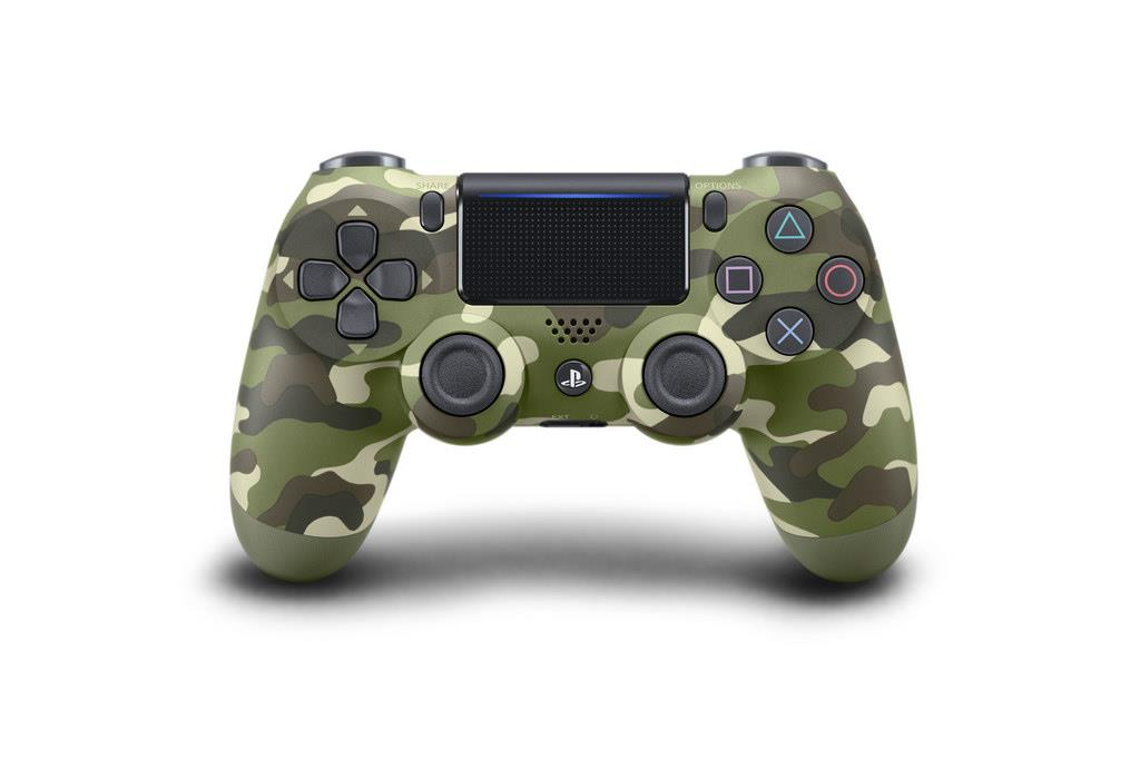 PS4 Dualshock 4 GREEN CAMMO v2