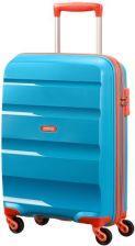 Cabin spinner AT SAMSONITE 85A81001 BonAir Strict S 55 4wheels luggage, blue/ora