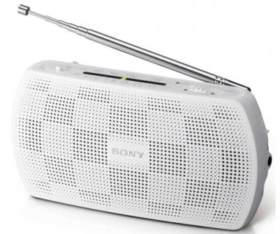 SONY SRF-18 Stereofonní rádio AM/FM - White