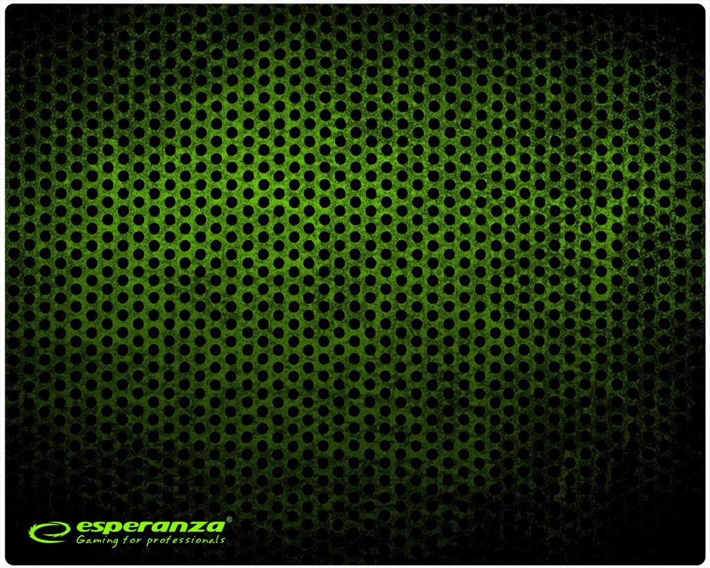 Esperanza EGP101G GAMING CLASSIC MINI podložka pod myš (250x200x2mm), zelená