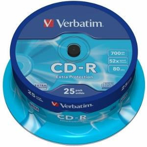 Verbatim CD-R [ cakebox 25   700MB   52x   DataLife ]