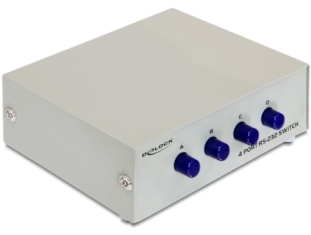 Delock Serial Switch RS-232 - 4 porty, manuál