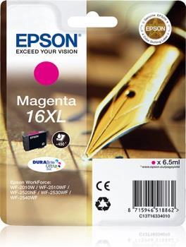 Inkoust Epson T1633 XL magenta DURABrite | 6,5 ml | WF-2010/25x0