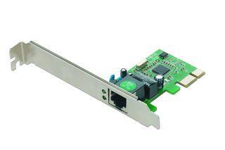 Gembird 1-GIGABIT PCI-Express Síťová karta, Realtek chipset
