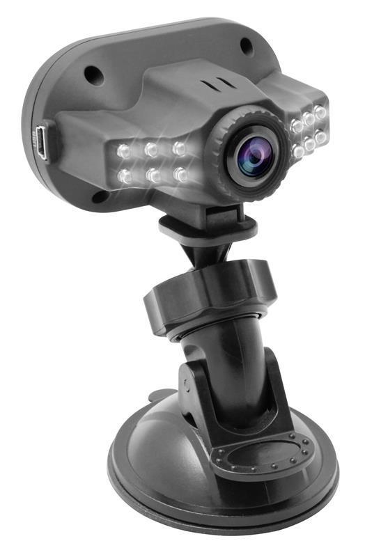 Media-Tech U-DRIVE UP kamera do auta 1.3Mpix 1080p, LCD 1.5'', 12x LED, G-senzor