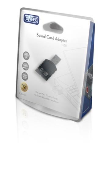 Sweex Externí zvuková karta USB 2.0