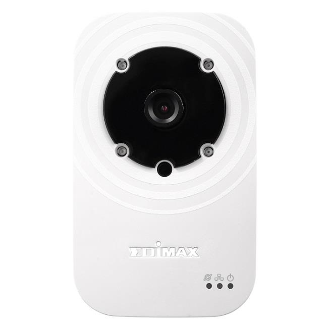 Edimax 720p Wireless H.264 IR IP Camera, HD 1280x720, Night view, Plug&View
