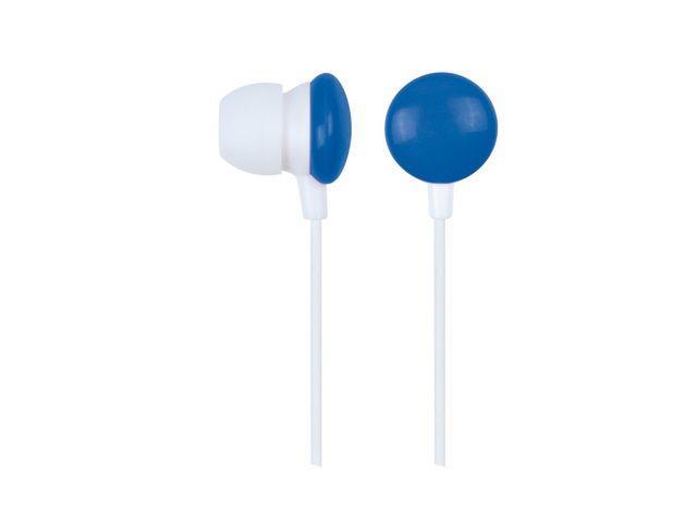 Gembird Stereo MP3 sluchátka do uší, modré
