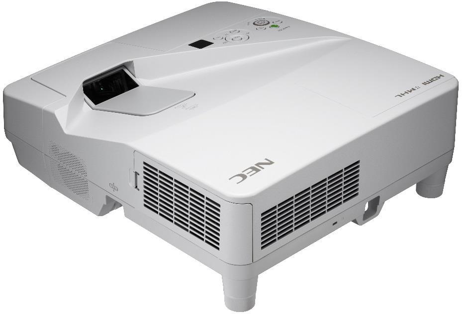 Projector NEC UM301X (LCD, WXGA, 3000AL incl. Wall-mount)