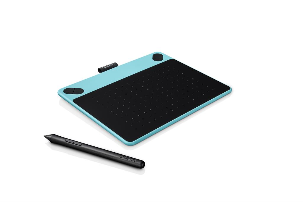 Wacom Intuos Comic Blue Pen&Touch S - grafický tablet