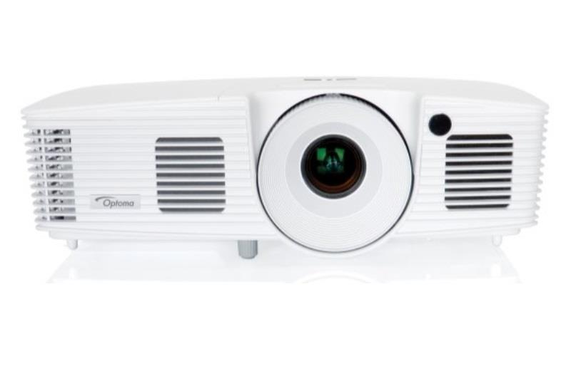 Optoma projektor X350 (FULL 3D, XGA, 3 400 ANSI, 18000:1, HDMI, LAN, 10W, brašna)