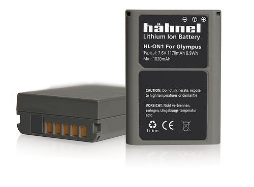 Hähnel HL-ON1 - Olympus BLN-1 7.6V, 1170mAh, 8.9Wh