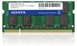 SODIMM DDR2 2GB 800MHz CL6 (PC6400) ADATA