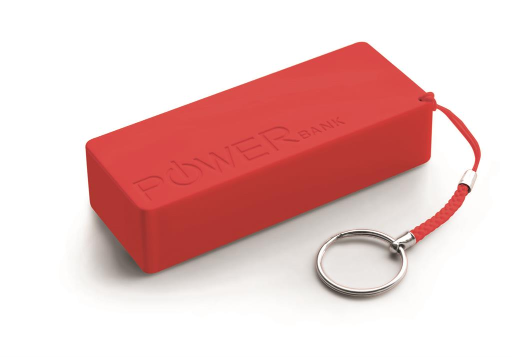 Extreme XMP102R QUARK XL externí baterie 5000mAh, červená