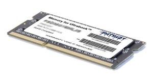 Patriot 4GB SO-DIMM DDR3-1600MHz 1,35V DR