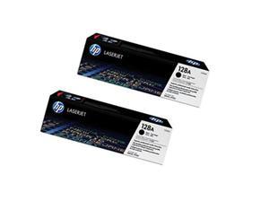 Toner HP 128A black dual pack   2x2000str   LaserJet Pro CP1525/CM1415fn MFP