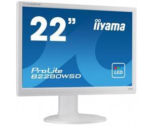 Iiyama LCD-LED Prolite B2280WSD-W1 22'', TN LED, 5ms, VGA, DVI-D, repro