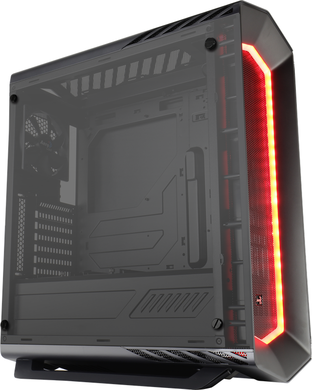 PC skříň Aerocool ATX P7 C1 BLACK TEMPERED GLASS, USB 3.0, bez zdroje