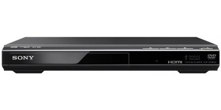 SONY DVP-SR760HB - DVD přehrávač s USB a výstupem HDMI-Black