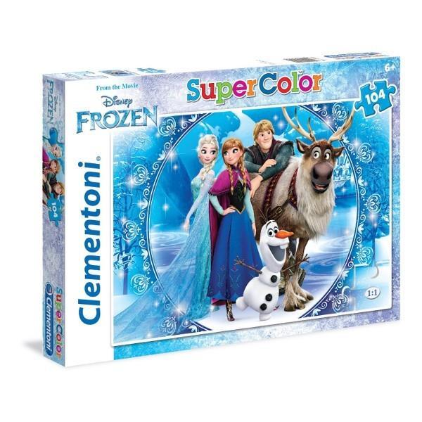CLEMENTONI Puzzle 104 el. Frozen