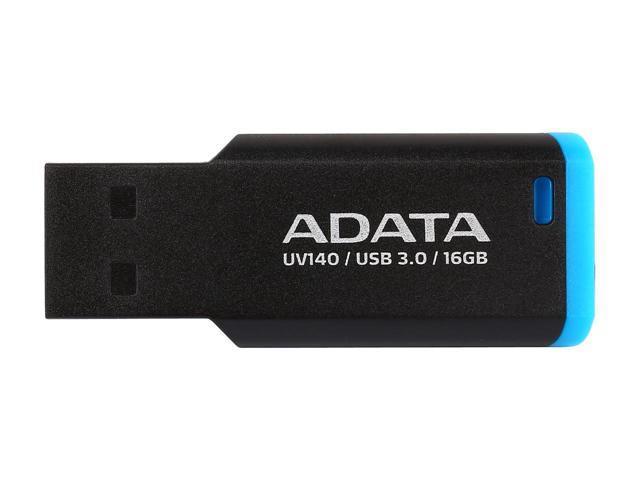 ADATA flashdisk UV140, 16GB, USB 3.0, černá a modrá