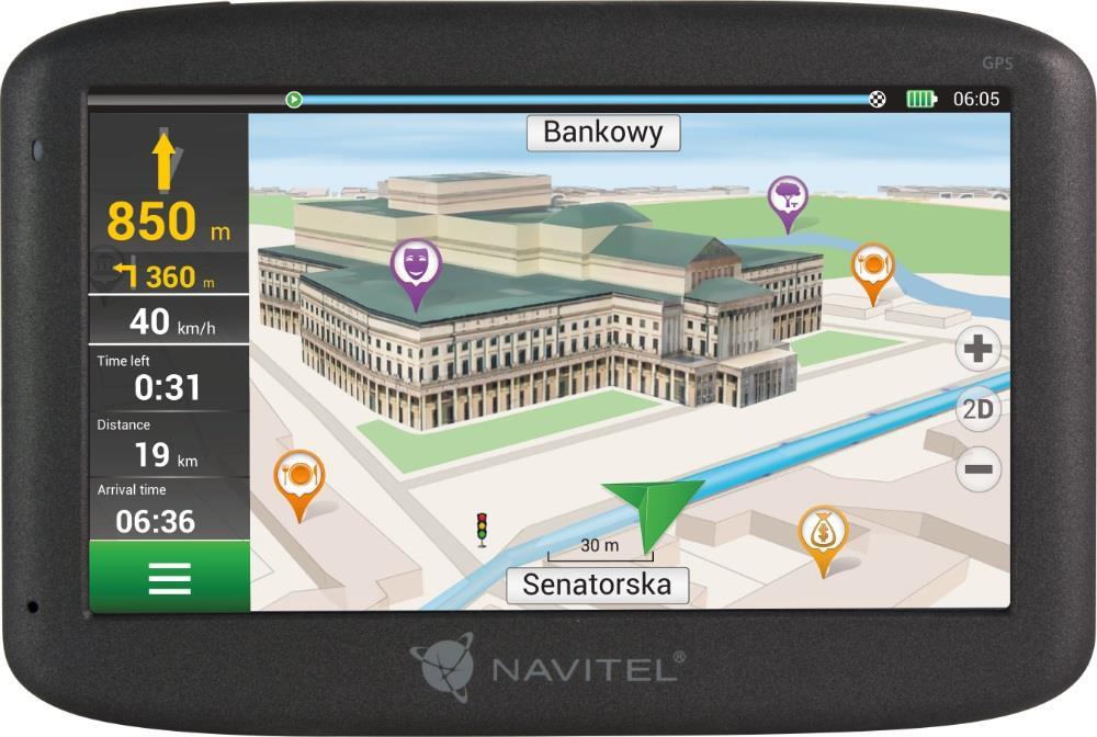 NAVITEL F150 LIFETIME PL+CZE+SVK+BLR+UKR