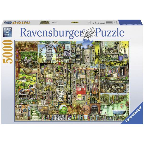Ravensburger puzzle 5000 el. Weird City