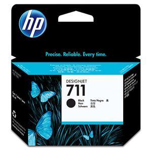 HP CZ133A No. 711 Black Ink Cart pro DSJ T120, 80 ml
