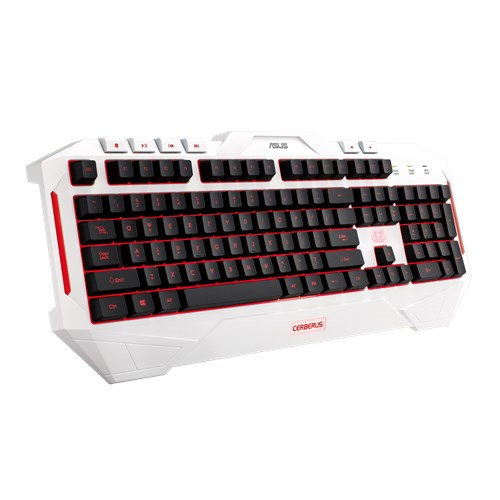 Asus herní klávesnice Cerberus Arctic Multi-Color LED