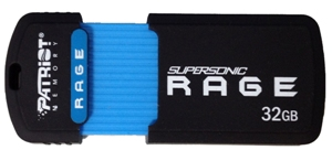 32GB Patriot SuperSonic Rage 3.0 USB 180/50MBs
