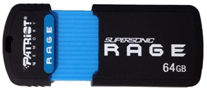 Patriot Supersonic RAGE XT 64GB USB 3.0 flashdisk