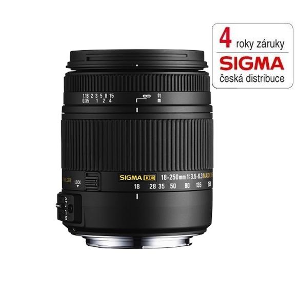 SIGMA 18-250/3.5-6.3 DC MACRO OS HSM Canon