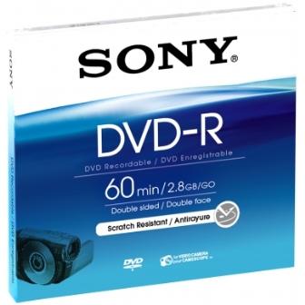 Média DVD-R DMR-60A SONY pro DVD kamery, 8cm