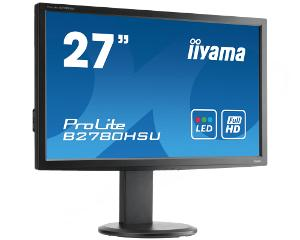 Iiyama LCD B2780HSU-B1 27'' LED,2ms,VGA/DVI/HDMI,USB,repro,1920x1080,HAS,pivot,č