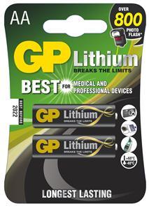 GP AA Lithium lithiová - 2 ks