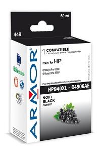 Armor ink-jet pro HP Pro 8000/8500,Chip,69 ml Čer.