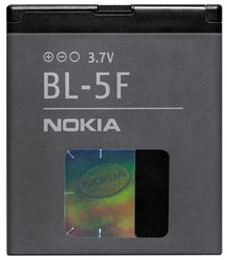 Nokia baterie BL-5F Li-Ion 900 mAh - bulk