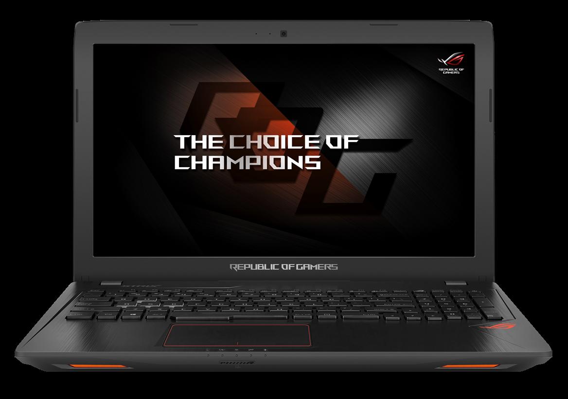 ASUS GL553VD 15.6/i7-7700HQ/256SSD/8G/GTX1050/DVD/W10 černý