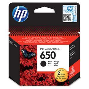 Inkoustová náplň HP 650 černá