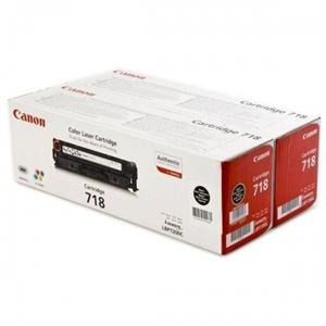 Canon toner CRG-718Bk - Twin pack (CRG718BK)