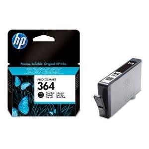 HP 364 černá foto ink. kazeta, CB317EE - blistr