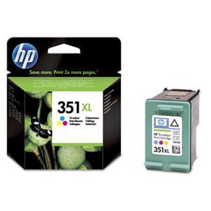 HP 351XL barevná ink. kazeta, CB338EE - blistr