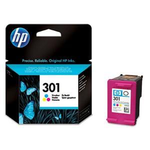 HP 301 tříbarevná ink kazeta, CH562EE - blistr