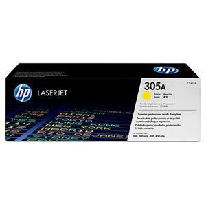 HP CE412A Toner 305A pro CLJ M351/M375/M451/M475, (2600str), Yellow
