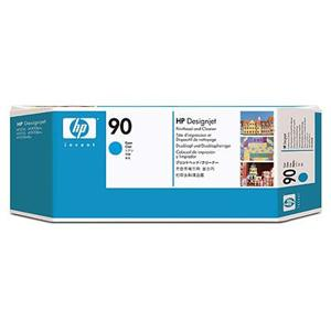 HP 90 Cyan Printhead + Printhead Cleaner, C5055A